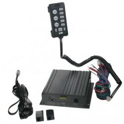 Profesionálny výstražný systém s mikrofónom 100W