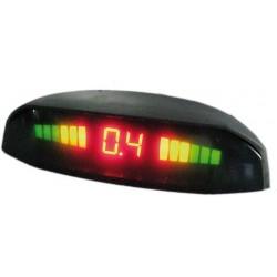 Parkovací systém bezdrôtový 4 senzorový - LED displej