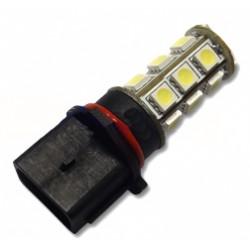 LED P13W biela, 12V, 18LED / 3SMD