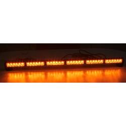 LED svetelná alej, 36x 1W LED, oranžová 950mm, ECE R10