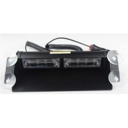 PREDATOR LED vnútorné, 8x LED 3W, 12V, modro-červený