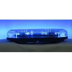 LED rampa 388mm, modrá, magnet, 12-24V, homologácia ECE R65