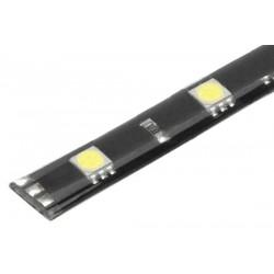 LED pásik s 12LED / 3SMD biely 12V, 30cm