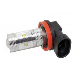 CREE LED H8 biela, 12-24V, 30W (6x5W)