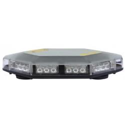 LED rampa, oranžová, magnet, 30x LED 1W, ECE R65