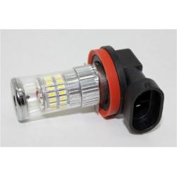 TURBO LED H8 biela, 12-24V, 48W