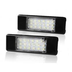 LED osvetlenie ŠPZ do vozidla Peugeot a Citroen