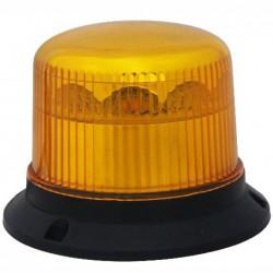 PROFI LED maják 12-24V 10x3W oranžový magnet ECE R65 121x90mm