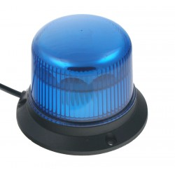 PROFI LED maják 12-24V 10x3W modrý ECE R10 121x90mm