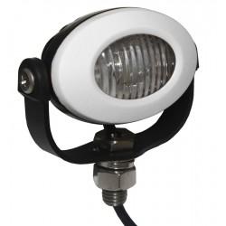 PROFI LED výstražné svetlo 12-24V 3x3W biely ECE R10 92x65mm