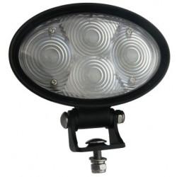 PROFI LED výstražné bodové svetlo 10-48V 4x3W modrý 143x122mm, R10