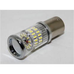 TURBO LED 12-24V s päticou BA15S, 48W červená