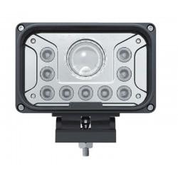 LED svetlo obdĺžnikové, 13x LED (42W), 165x107x90mm