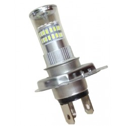 TURBO LED H4 biela, 12-24V, 48W