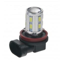 LED H8 biela, 10-30V, 12SMD 5630 + 3W