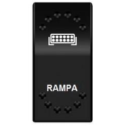 Rocker spínač RAMPA 12 / 24V