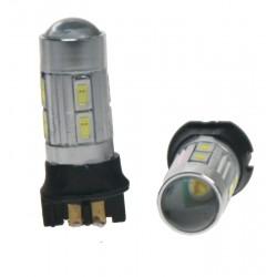 LED PW24W biela, 12V, 8 x 5630SMD + 3W CREE