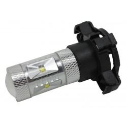 LED PY24W biela, 12-24V, 30W (6x5W)