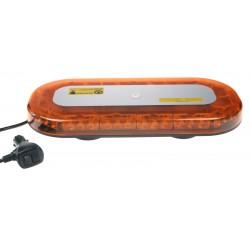 SLIM rampa oranžová, 42LEDx3W, magnet, 12-24V, 365mm, ECE R65 / R10