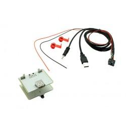 USB + JACK konektor Fiat 500L, Ducato, 500X