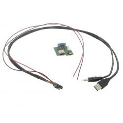 USB + JACK konektor Hyundai
