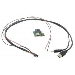USB + JACK konektor Kia