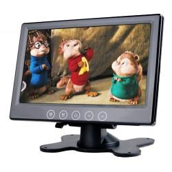 LCD monitor 7 čierny na palubnú dosku