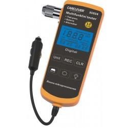 Multifunkčný tester 4v1 TPMS / batéria / nabíjanie / lampička