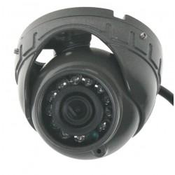 AHD 720P kamera 4PIN CCD SHARP s IR, vonkajšia v kovovom obale, tmavo šedá