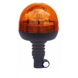 Halogén maják, 12 i 24V, oranžový na držiak, ECE R65