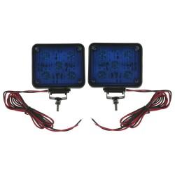 x PREDATOR LED vnútorné, 12V, 10x LED 1W, modrý