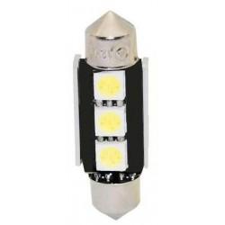 LED sufit (36mm) biela, 12V, 3LED / 3SMD s chladičom