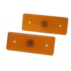 Bočné obrysové svetlo LED, oranžové 12V