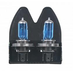 Halogén. žiarovka 12V s päticou H4, Blue white 4300K