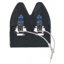 Halogén. žiarovka 24V s päticou H3, Blue white 4300K