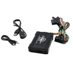 Connects2 - ovládanie USB zariadenia OEM rádiom Subaru / AUX vstup