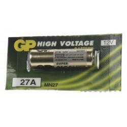 Batérie GP 27A 12V alkalická