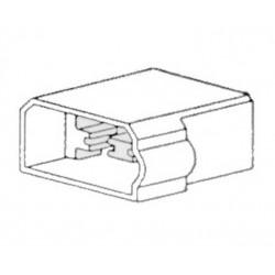 Zásuvka 4-pólová, samička