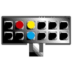Kábel pre PIONEER 12-pin / ISO biely