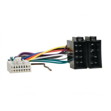Kábel pre PANASONIC 16-pin / ISO biely