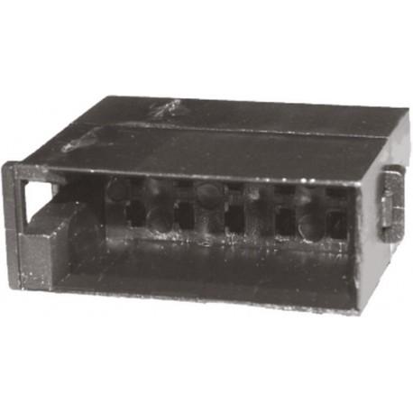 Konektor UNI ISO 10-pinový protikus bez káblov (25007)