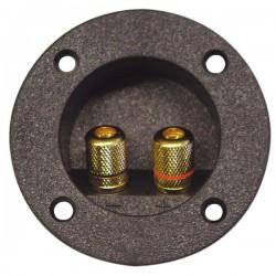 Pripojovacie svorkovnice reproboxu 2-pólová, pozlátená