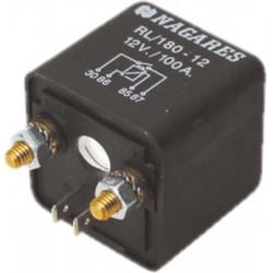 Relé pre dobíjanie druhej batérie 12V / 100A