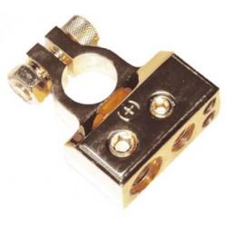 Pozlátená svorka (+) pólu batérie (4 in) 1x50, 1x20, 2x10 mm2