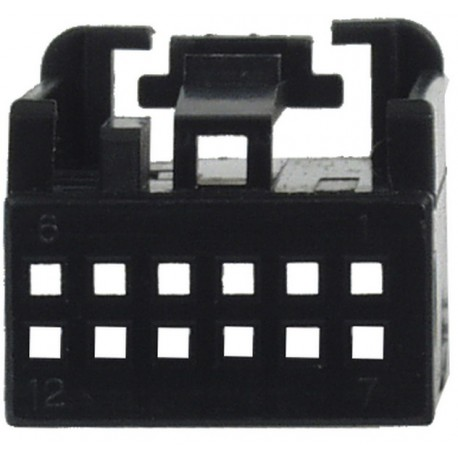 MOST plast. puzdro 25.055 / 4 čierne