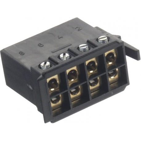 Konektor UNI ISO repro skrutkovacie bez káblov
