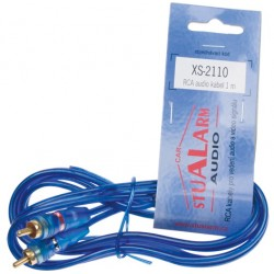 RCA audio kábel BLUE BASIC line, 1m