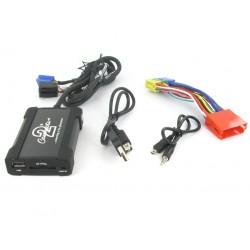 Connects2 - ovládanie USB zariadenia OEM rádiom Audi / AUX vstup