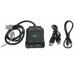 Connects2 - ovládanie USB zariadenia OEM rádiom Nissan / AUX vstup