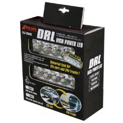 LED svetlá pre denné svietenie, 147x45mm, ECE